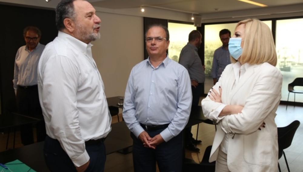Συνάντηση Φώφης Γεννηματά με την Εκτελεστική Επιτροπή της ΠΕΔ Κρήτης