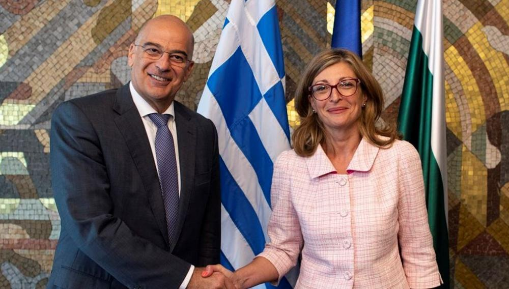 Συνάντηση Ν. Δένδια με τον ΥΠΕΞ Βουλγαρίας  στην Αθήνα