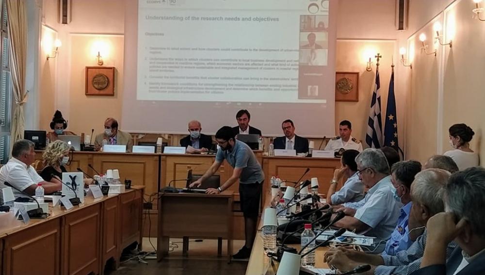 Κρήτη: Για τη βιώσιμη γαλάζια οικονομία και τον παράκτιο τουρισμό