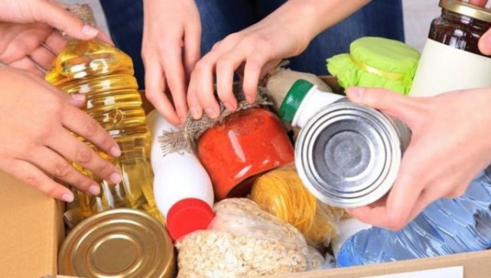 Διανομή τροφίμων στο δήμο Χερσονήσου