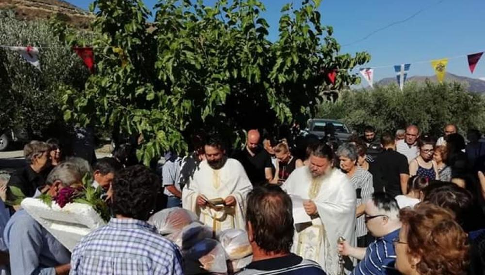 Η γιορτή της Αγίας Άννας στους Δρόσους