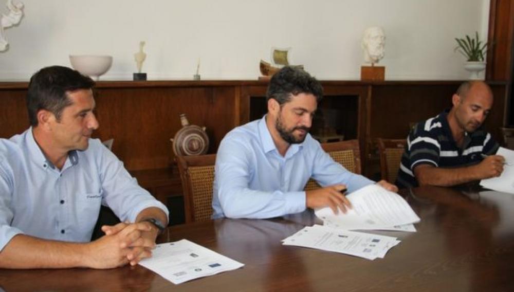 Υπογραφή σύμβασης για χώρους καταφυγής σε πάρκα των Χανίων