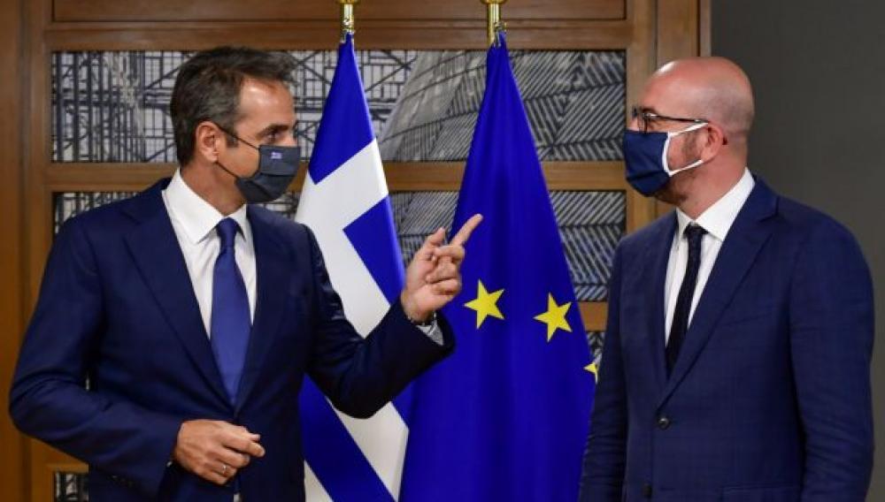 Συνάντηση Μητσοτάκη με Μισέλ: «Είναι στο χέρι της Τουρκίας αν θα επιλέξει τη συνεργασία»