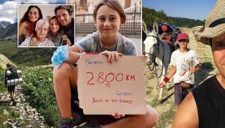 Περπάτησε 11χρονος από την Σικελία στο Λονδίνο... για να δει τη γιαγιά του