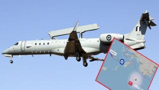Σάστισαν οι Τούρκοι – Ελληνικό Embraer πέρασε πάνω από το Oruc Reis