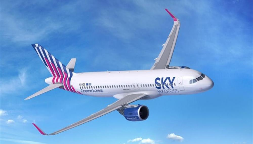 Sky Express: Έξι νέα Airbus Α320neo στον στόλο της
