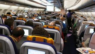 Κορωνοϊός -Νέα έρευνα για τις καμπίνες των αεροπλάνων