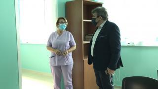 Στα Κέντρα Υγείας Αρκαλοχωρίου και Καστελίου ο Νίκος Ηγουμενίδης