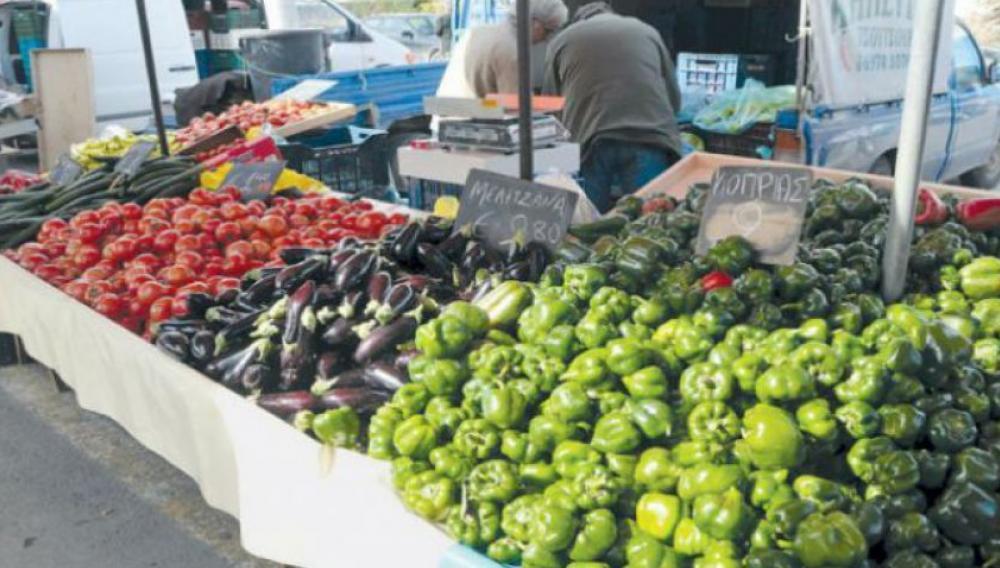 Ηράκλειο: Πρεμιέρα για τη λαϊκή αγορά στο Παγκρήτιο