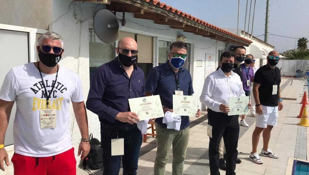 Ηράκλειο:Στην έναρξη του τουρνουά υδατοσφαίρισης παίδων ο Αντιδήμαρχος Αθλητισμού