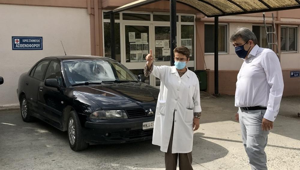 Στο Κέντρο Υγείας Μοιρών και στα Περιφερειακά Ιατρεία Τυμπακίου, Ζαρού και Αγίων Δέκα ο Νίκος Ηγουμενίδης