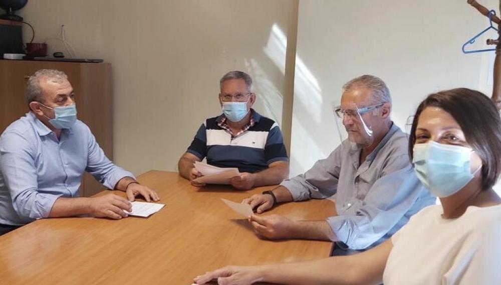 Συνάντηση Σ.Βαρδάκη με εκπροσώπους εργαζόμενων στον ΟΑΕΔ