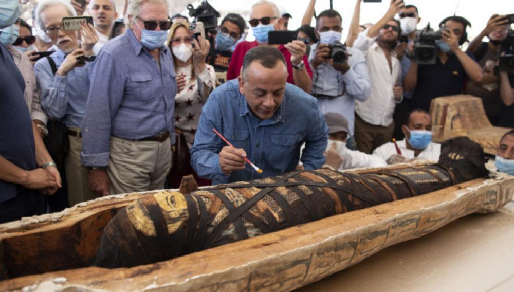 Σπουδαία ανακάλυψη στην Αίγυπτο: Βρέθηκαν 59 καλά διατηρημένες σαρκοφάγοι