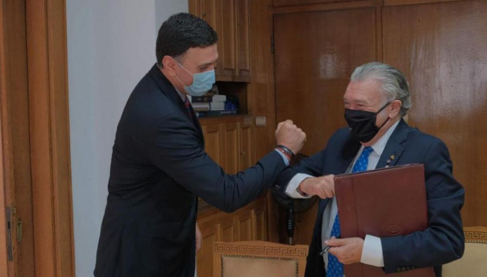 Συναντήθηκε ο Κικίλιας με τον Πρόεδρο του Κεντρικού Ισραηλιτικού Συμβουλίου Ελλάδος