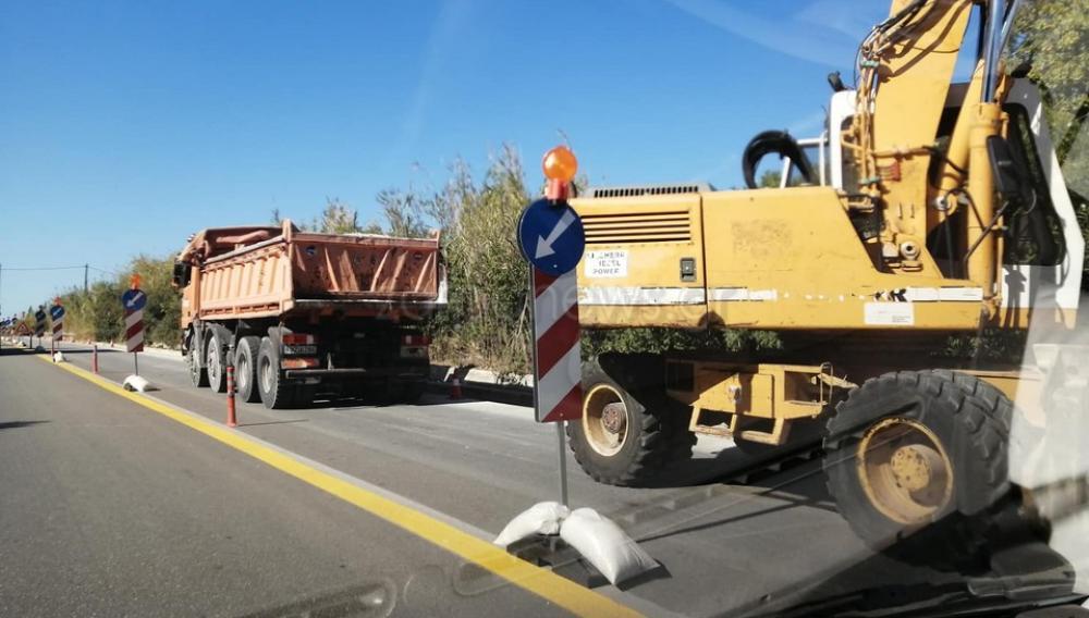 Έναρξη εφαρμογής κυκλοφοριακών ρυθμίσεων στο Βόρειο Οδικό Άξονα Κρήτης