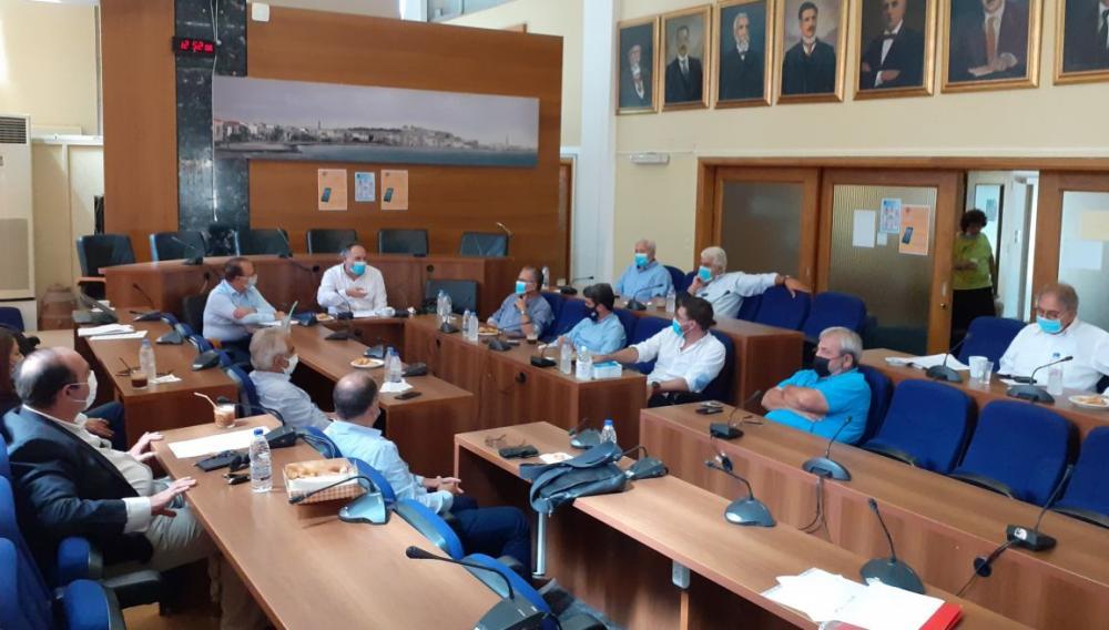 Συνεδρίαση του Διοικητικού Συμβουλίου της ΠΕΔ Κρήτης