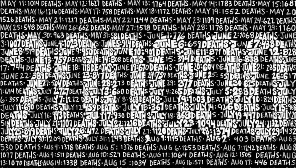Συγκλονιστικό το εξώφυλλο του Time για τους 200.000 νεκρούς του κορονοϊού στις ΗΠΑ