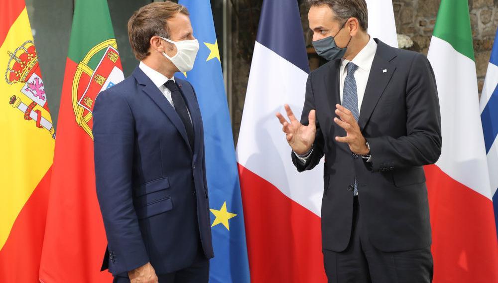 Πλήρης ταύτιση Ελλάδας - Γαλλίας: Μέτωπο με την... έξαλλη Τουρκία