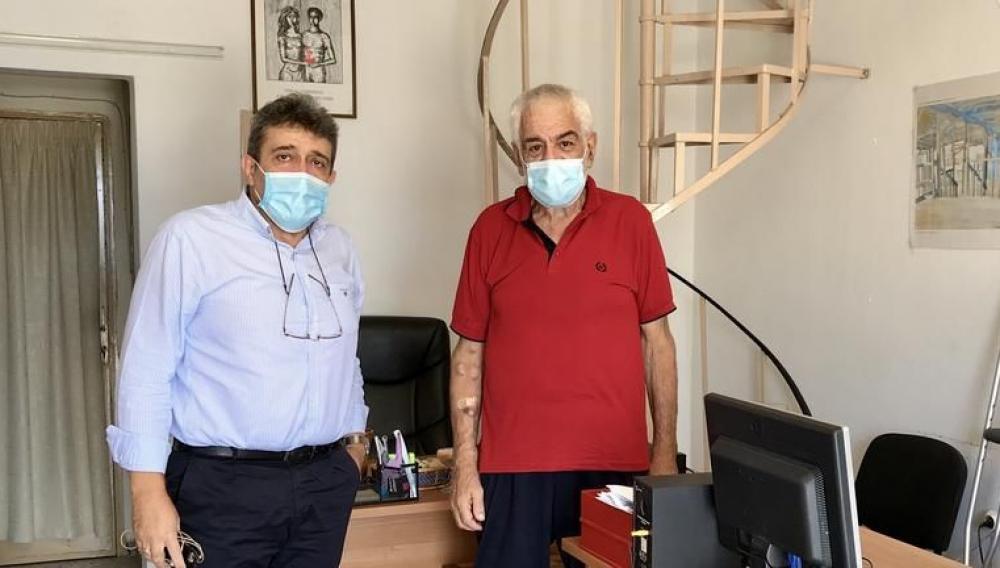 Με τους συλλόγους Ρευματοπαθών και νεφροπαθών συναντήθηκε ο Ν. Ηγουμενίδης