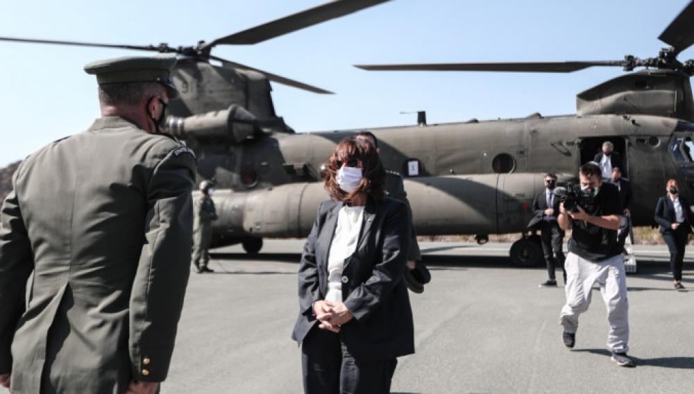 Τουρκικά ΜΜΕ για επίσκεψη Σακελλαροπούλου στο Καστελλόριζο