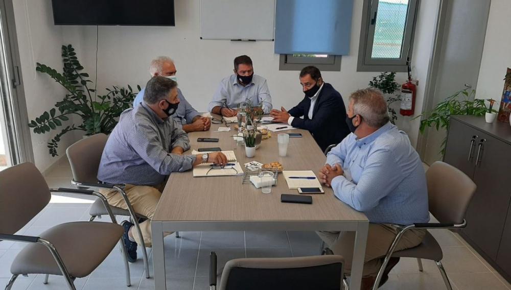 Επίσκεψη και συνάντηση με Δ.Σ. Δήμου Χερσονήσου