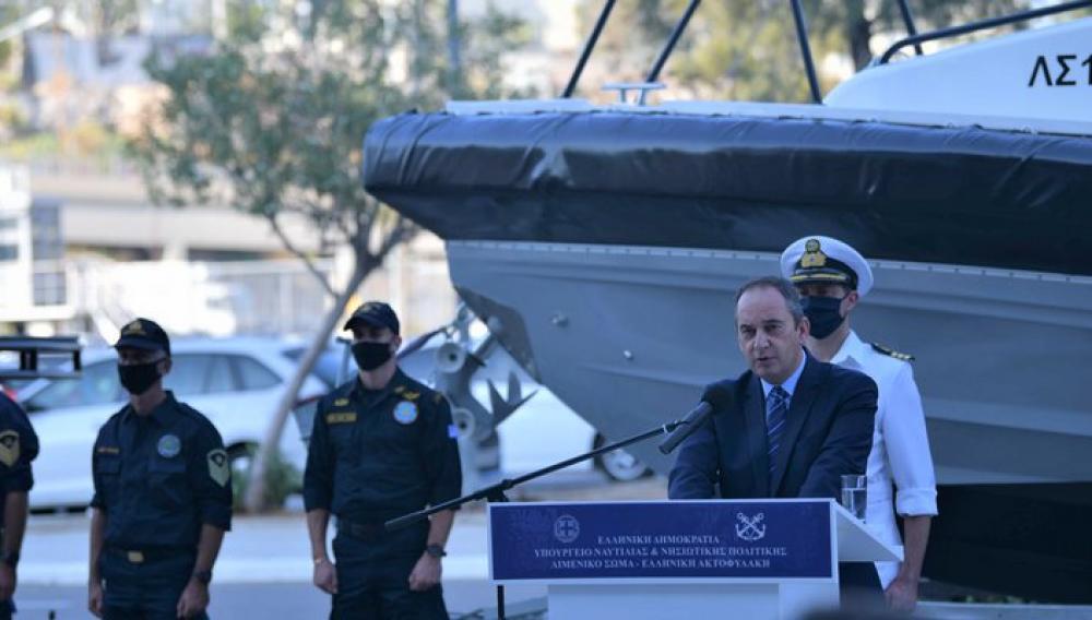Ένταξη δύο νέων περιπολικών σκαφών στον στόλο του Λιμενικού Σώματος