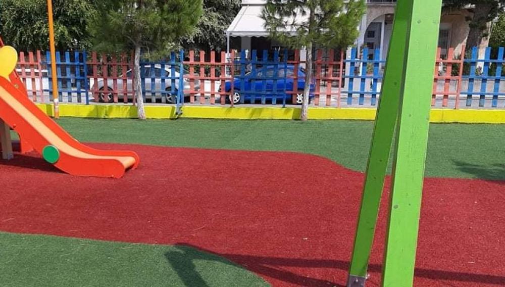 Γάζι: Ολοκληρώθηκαν οι εργασίες καθαρισμού στην παιδική χαρά Πολύδροσου