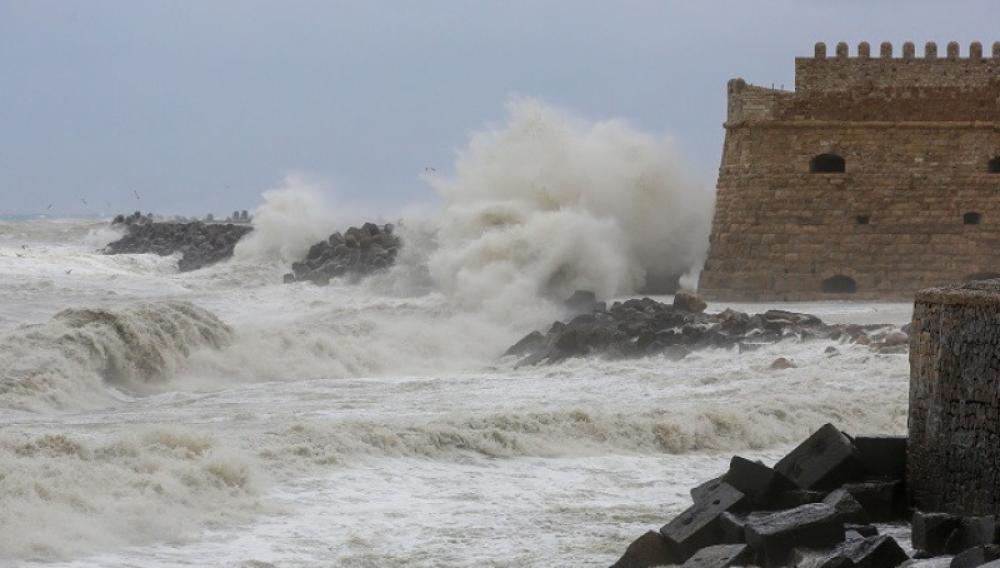 Κρήτη: Αυστηρή προειδοποίηση για τον «Ιανό» που έρχεται!