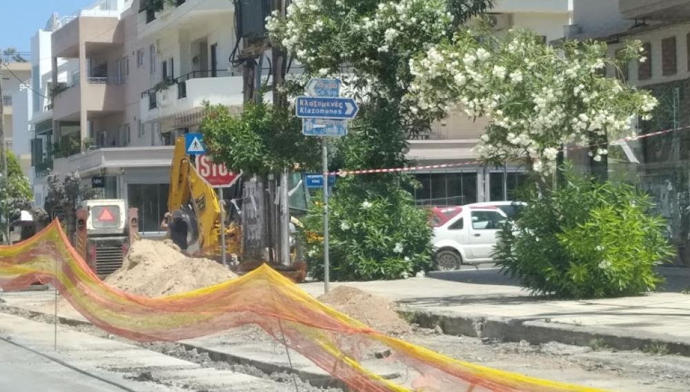 Συνεχίζεται η ταλαιπωρία στους δρόμους του Ηρακλείου