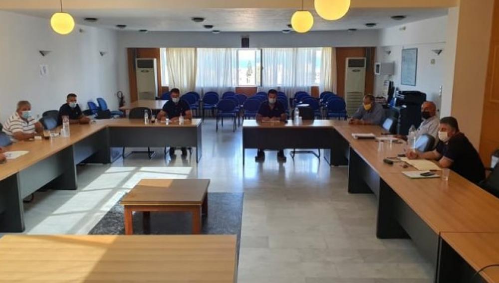 Δήμος Χερσονήσου: Συνεδρίαση για την αντιμετώπιση έκτακτων αναγκών λόγω κορωνοϊού