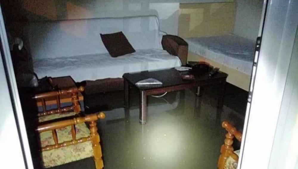 Ο «Ιανός» έπληξε το ΕΚΑΒ Κρήτης : Πλημμύρισαν εγκαταστάσεις (φωτογραφίες)