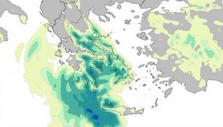 Κρήτη: Πόσο νερό έπεσε με το πέρασμα του «Ιανού»