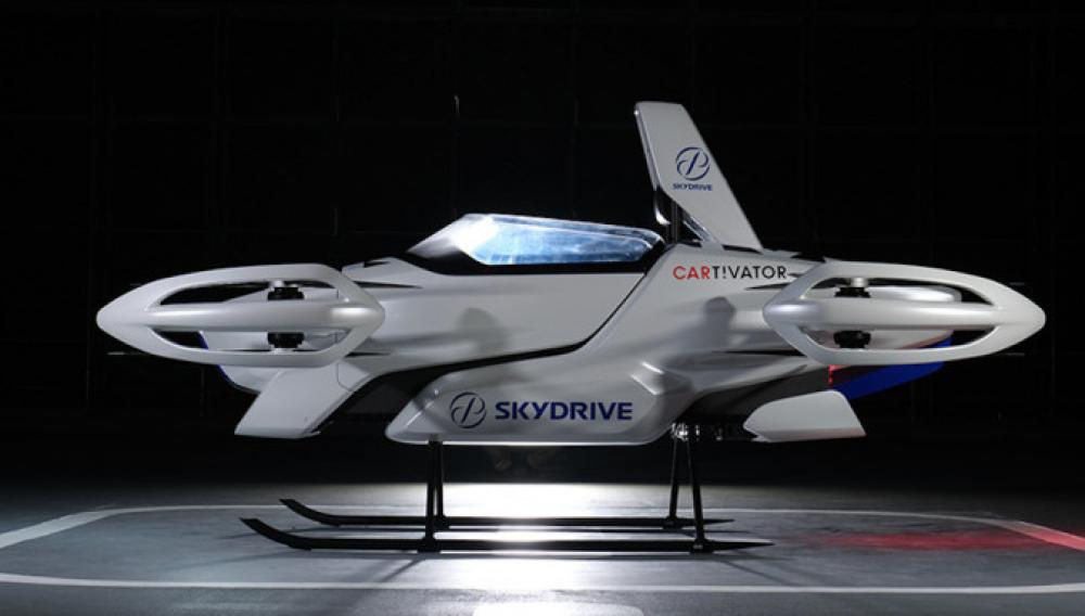 Το νέο ιπτάμενο αυτοκίνητο εκανε την πρώτη του πτήση!