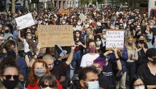 Διαδηλώσεις υπέρ των προσφύγων