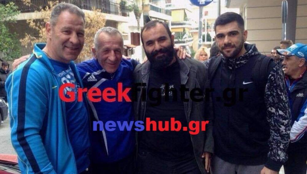Θέμα newshub.gr: O θρυλικός Μάλλιος με τους μαθητές του, Δαμαβολίτη και Καλομοίρη (βιντεο)