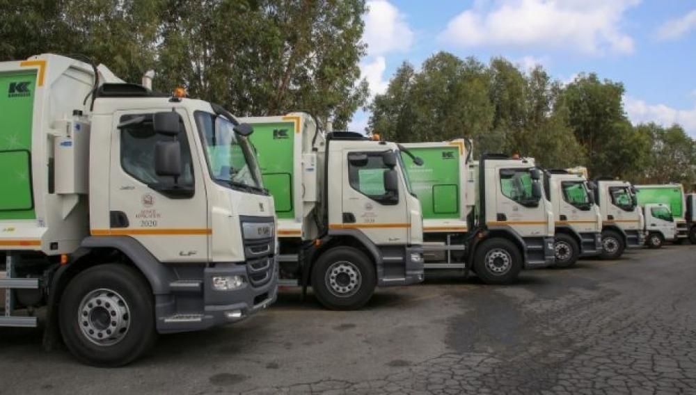 Ηράκλειο: Πέντε καινούργια απορριμματοφόρα στην διάθεση της Υπηρεσίας Καθαριότητας