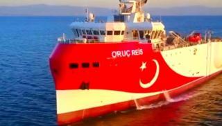 Ξεκινά ξανά το ταξίδι προς την Ανατολική Μεσόγειο το Oruc Reis