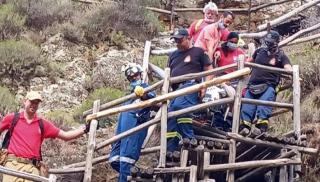Κρήτη: Επιχείρηση διάσωσης Γαλλίδας που τραυματίστηκε σε φαράγγι (φωτογραφίες)