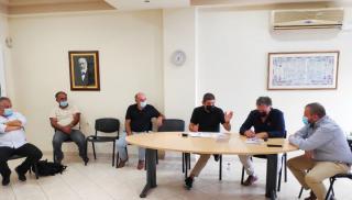 Συνάντηση Αυγενάκη με τον Δήμαρχο Μινώα Πεδιάδος