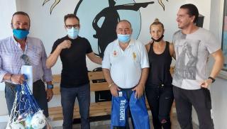 Παραδόθηκε αθλητικό υλικό στα Σχολεία Ειδικής Αγωγής ΔΔΕ Ηρακλείου