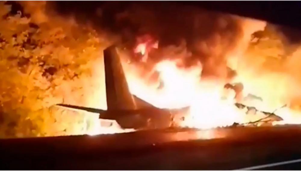 Τραγωδία στην Ουκρανία: Συνετρίβη στρατιωτικό αεροσκάφος