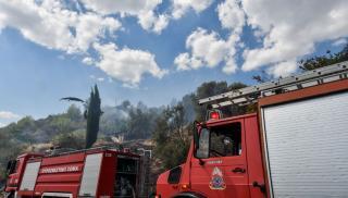 Ηράκλειο: Μεγάλες ζημιές άφησε πίσω της η φωτιά στην επιχείρηση αρτοσκευασμάτων(φωτογραφία)
