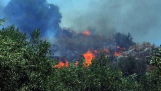 Κρήτη: Σε εξέλιξη μεγάλη φωτιά στο Ηράκλειο - Aρκετα τα πύρινα μέτωπα