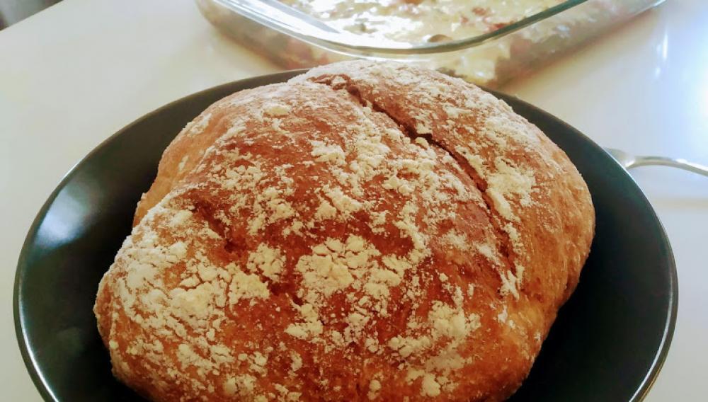 Ευκολο ψωμί στη γάστρα!