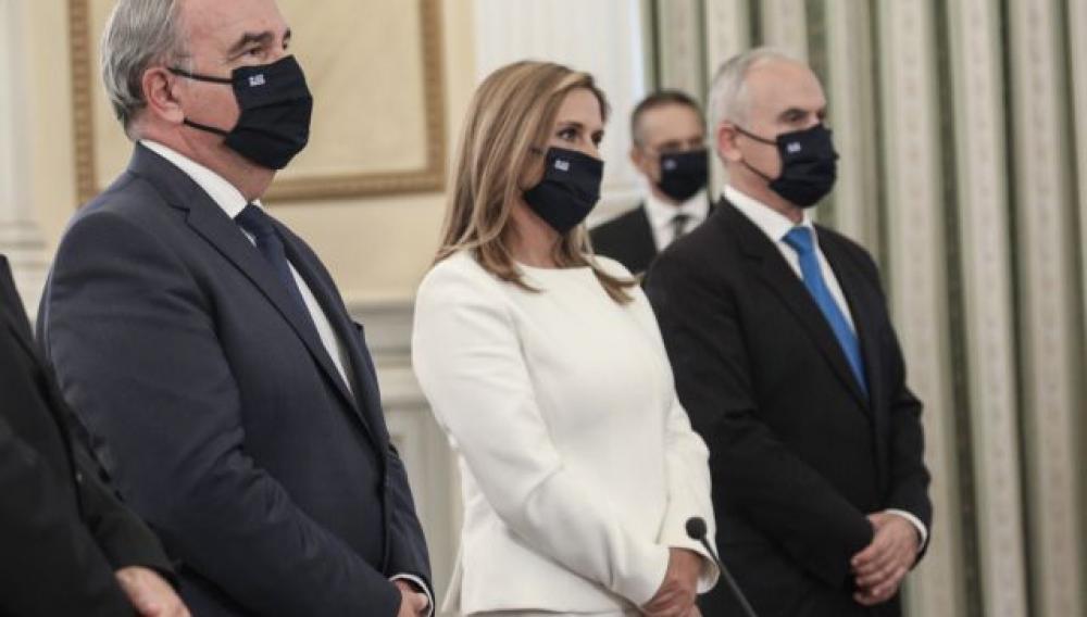Ορκωμοσία με μέτρα προστασίας για τα νέα μέλη της κυβέρνησης