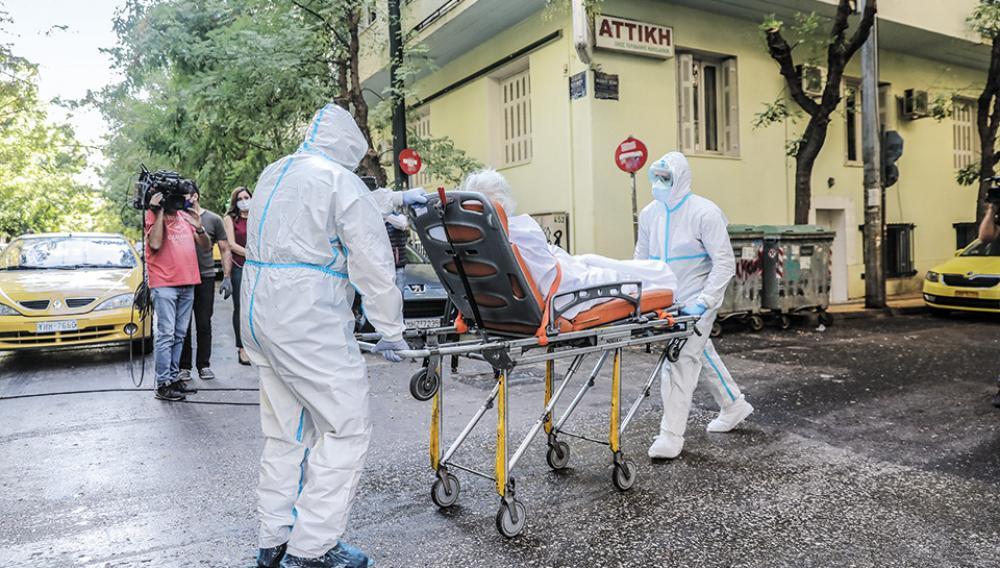 Κορωνοϊός: Νεκρός 79χρονος από το γηροκομείο «Αττική»